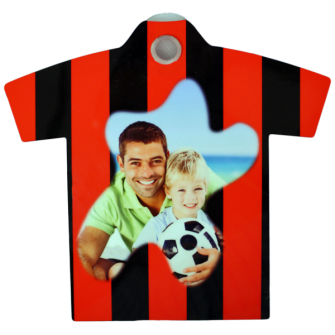 Foto Mini t-shirt in plastica
