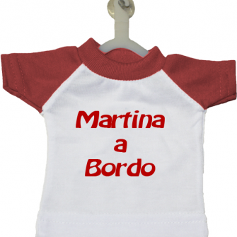 Foto Mini t-shirt rossa